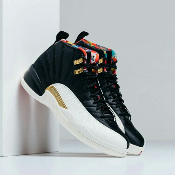 reputable site aa028 ed803 Jordan 12 CNY 2019 (Blk/Wht Chinese New Year )🔥🔥 NWT